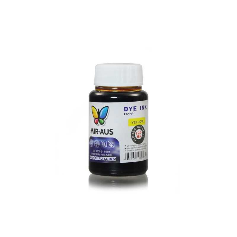 120 ml Yellow dye ink for HP printers