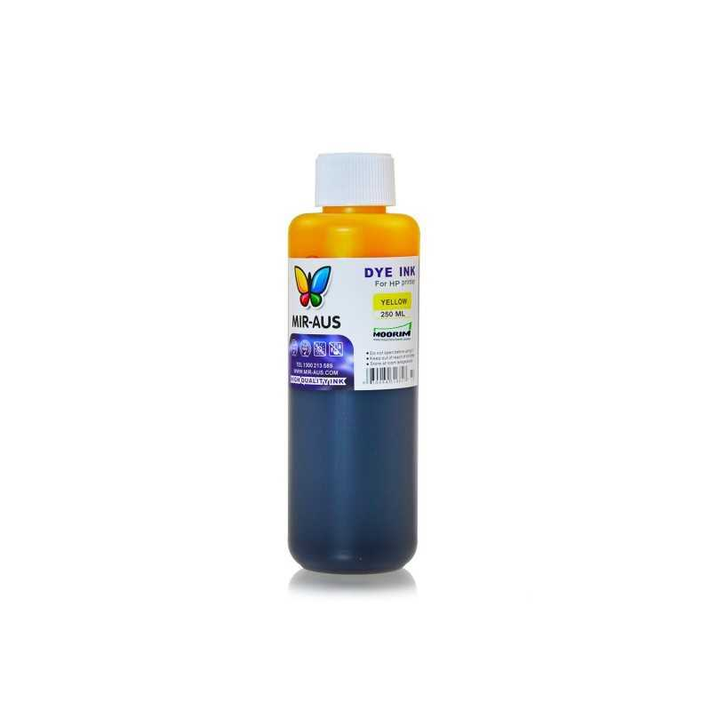 250 ml Yellow dye ink for HP printers