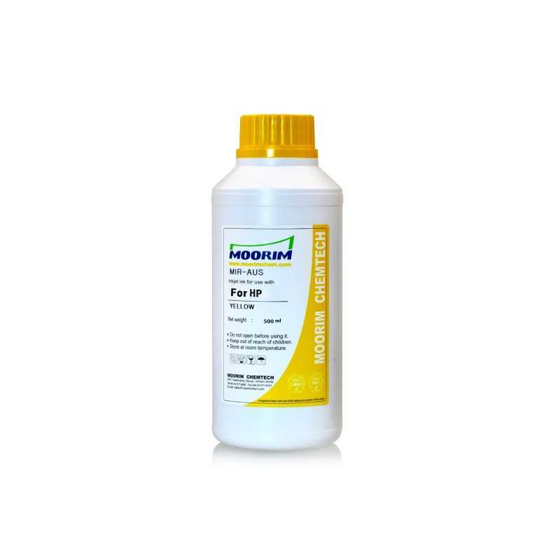 500 ml Yellow dye ink for HP printers