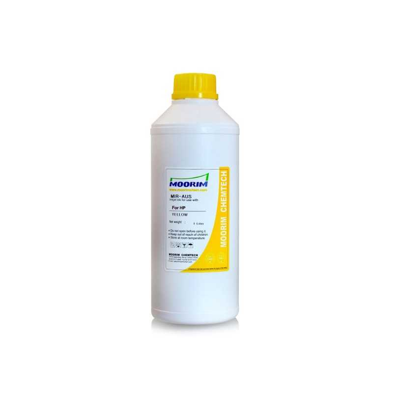 1 Litre Yellow dye ink for HP printers