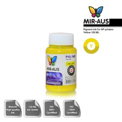 120 ml Yellow pigment ink for HP printers