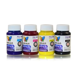 120 ml 4 Colours pigment ink for HP printers