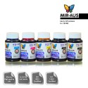 120 ml 5 Colours dye/pigment ink for HP printers