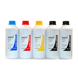 1 Litre 5 Colours dye/pigment ink for HP printers