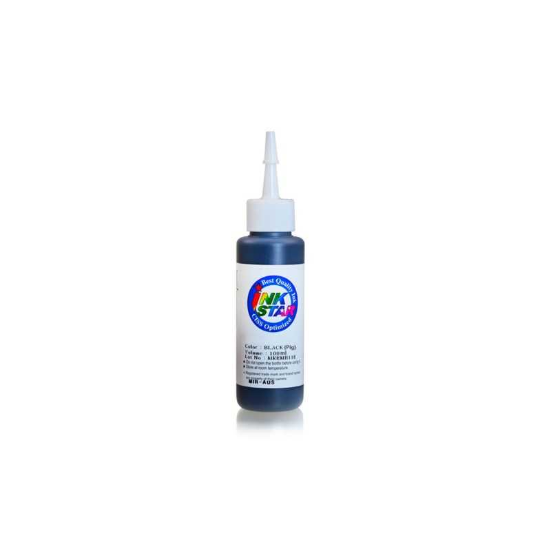 100 ml Black pigment ink for HP printers