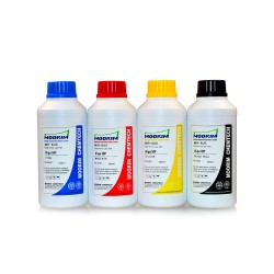 500 ml 4 Colours dye/pigment ink for HP printers