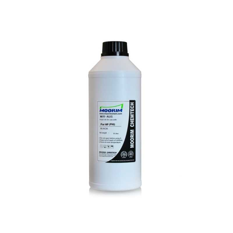 1 Litre black pigment ink for HP printers