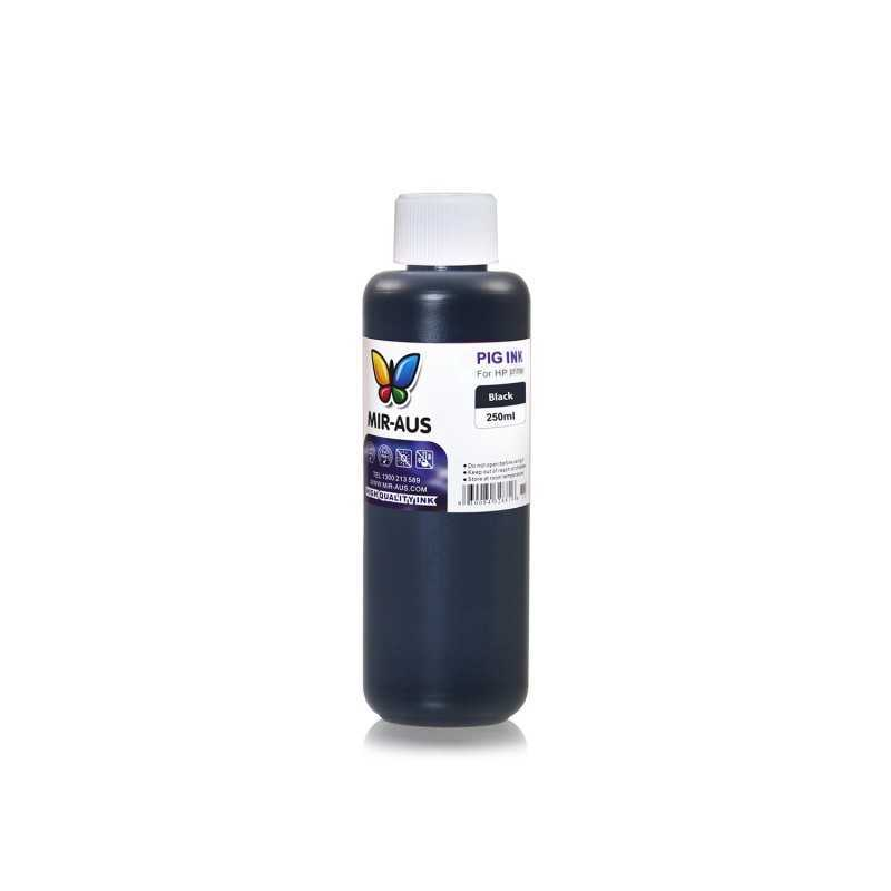 250 ml Black pigment ink for HP printers