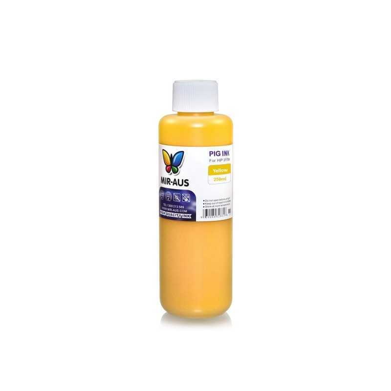 250 ml Yellow pigment ink for HP printers