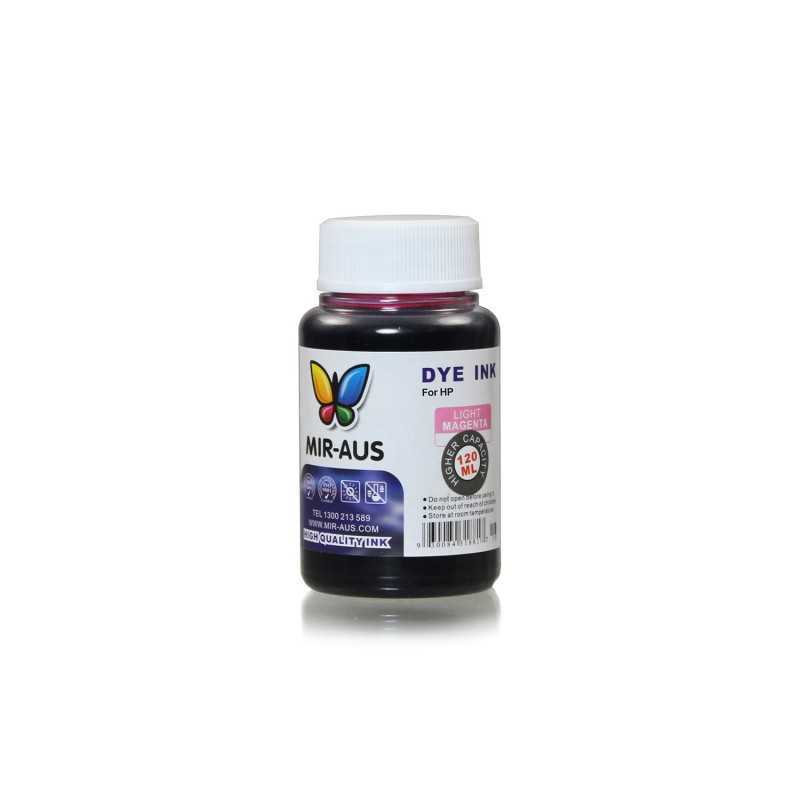 120 ml Light magenta dye ink for HP printers