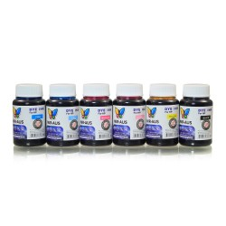 120 ml 6 Colours dye ink for HP printers