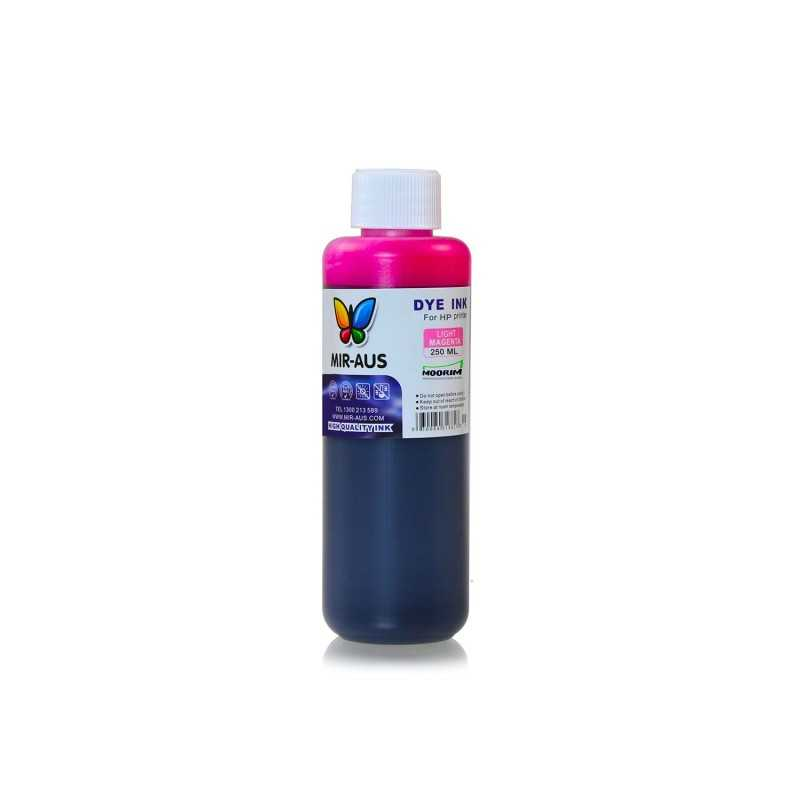250 ml Light magenta dye ink for HP printers