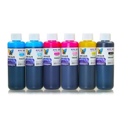 250 ml 6 Colours dye ink for HP printers