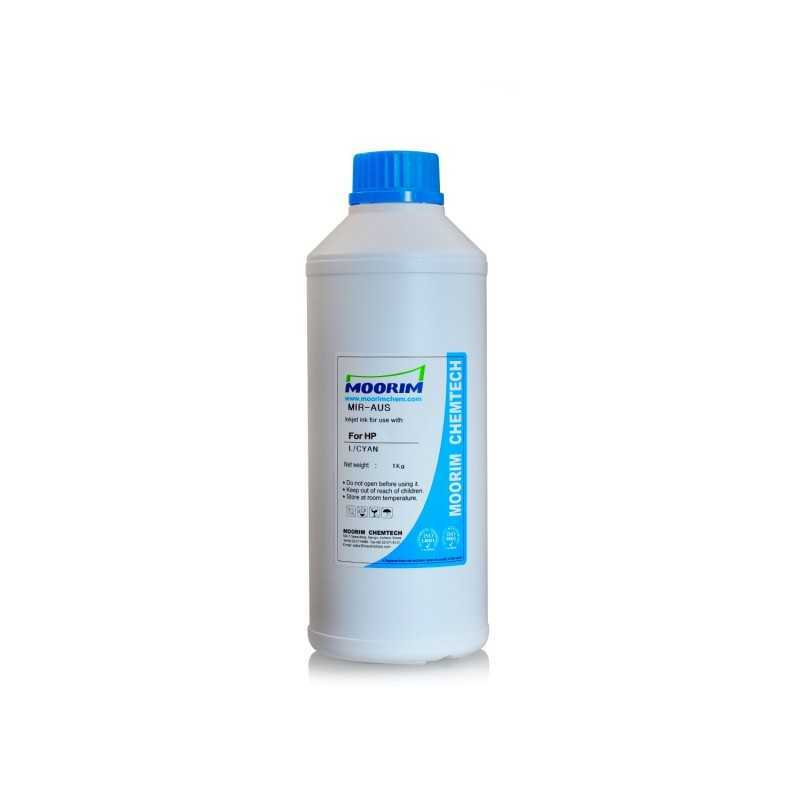 1 Litre light cyan dye ink for HP printers