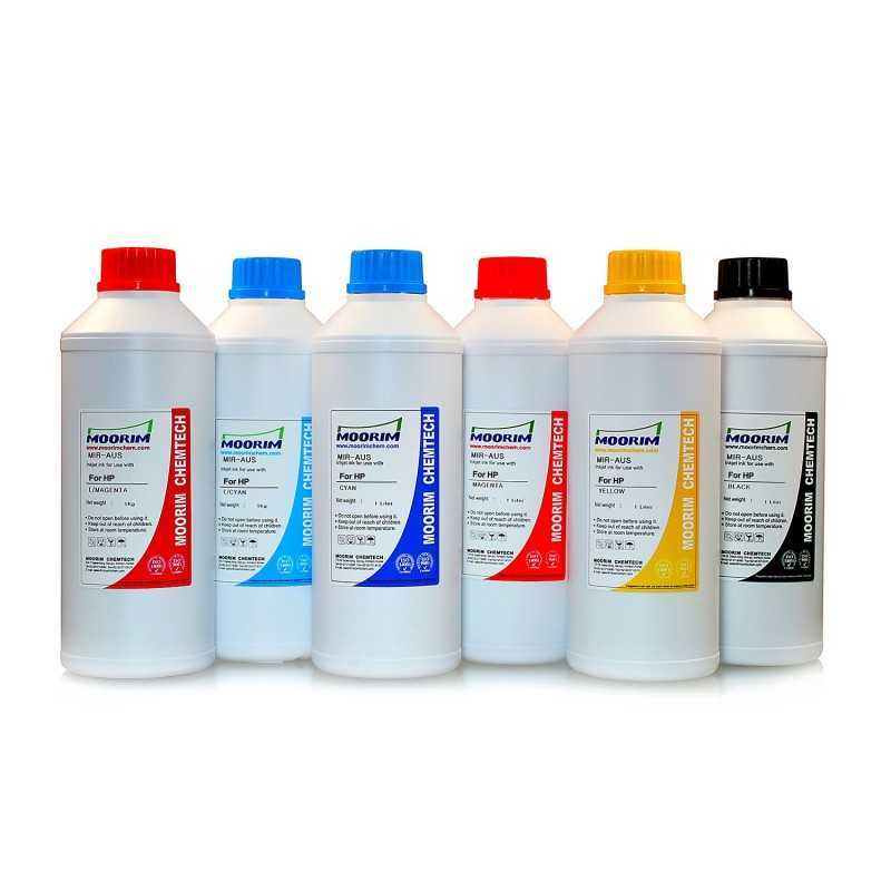 1 Litre 6 colours dye ink for HP printers