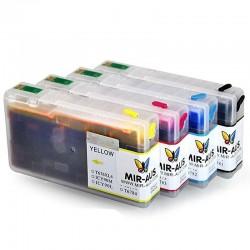 Tingir tinteiros recarregáveis para Epson WorkForce Pro WP-4590