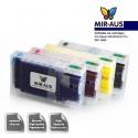 Cartuchos de tinta recargables para Epson personal Pro WP-4590