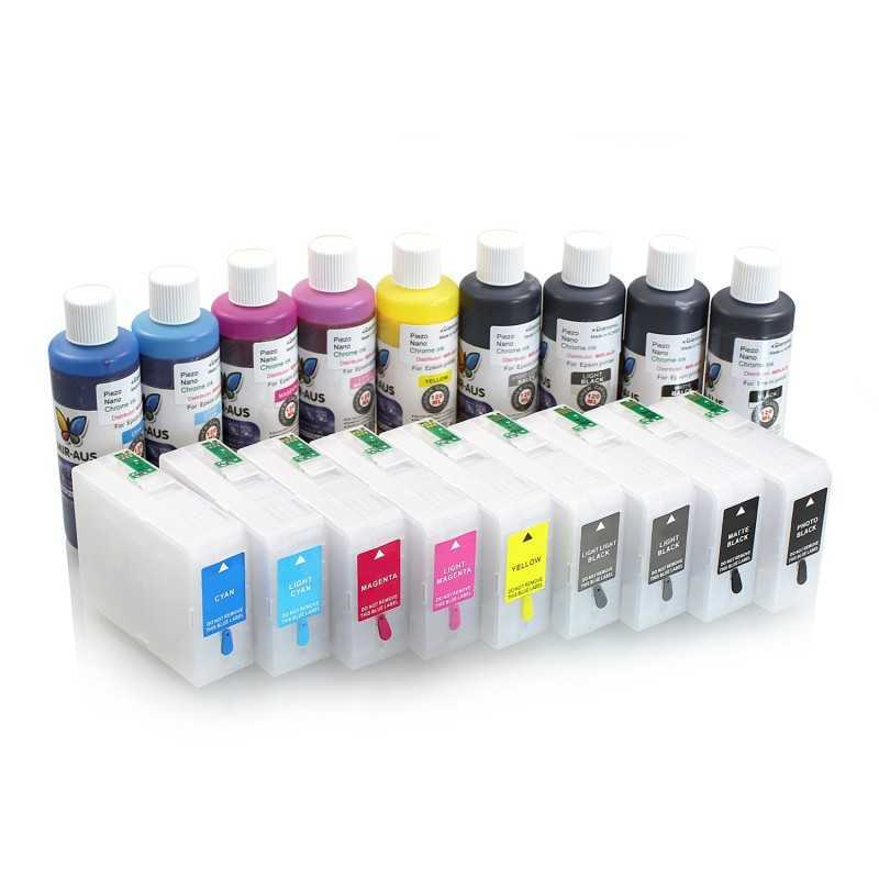 Refillable cartridges for Epson SureColor SC-P800