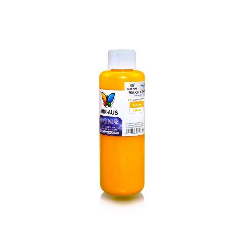250 ml Yellow pigment ink for Canon Maxify
