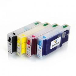 Cartuchos de tinta pigmento recarregáveis para Epson WorkForce Pro WF-4640