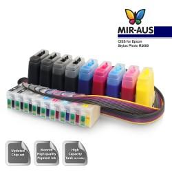 Uso del sistema de suministro de tinta para EPSON R3000