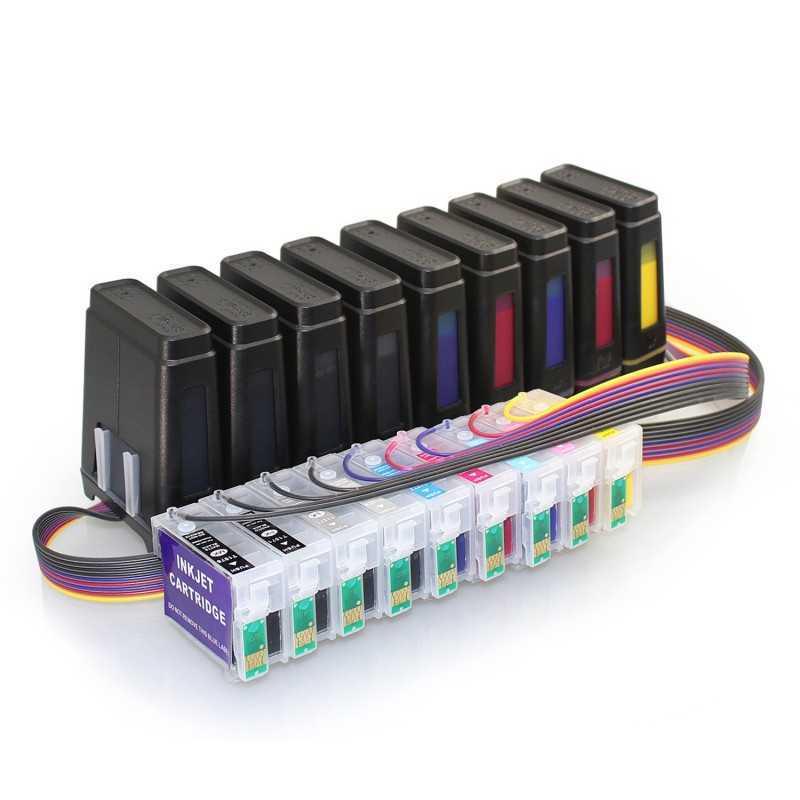Uso de sistema de abastecimento de tinta para EPSON R3000