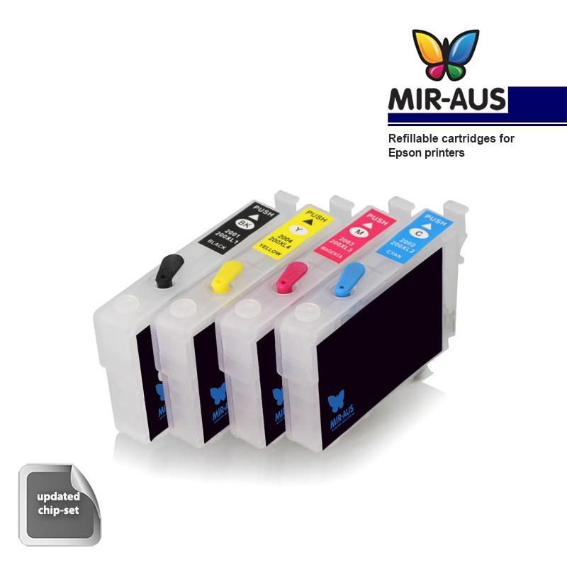 Refillable Cartridges Suitable Epson Expression Home Xp 235