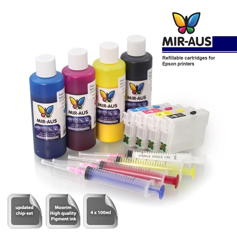 Cartuchos Recargables Epson Conveniente Pigmento De
