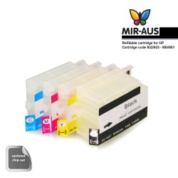 Refillable cartridges for HP Officejet Pro 8630 e-All-in-One Printer