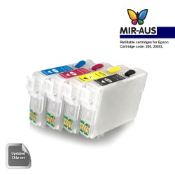 Refillable ink cartridges for Epson WorkForce WF-2510