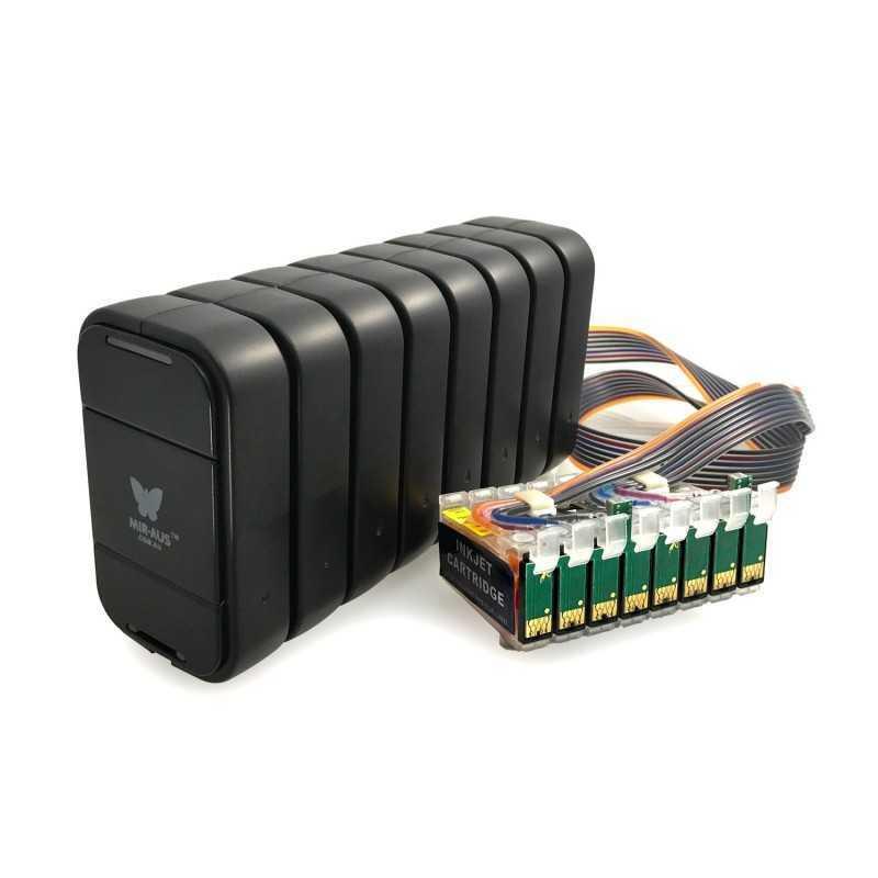 V. CISS per EPSON R2880 MBOX-2 (8 colori)