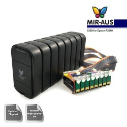 V. CISS para EPSON R2880 MBOX-2 (8 cores)
