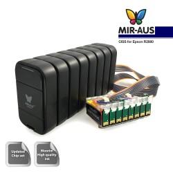 CISS för EPSON R2880 MBOX-V.2 (8 färger)
