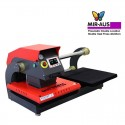 Mir- Pneumatic double location shuttle Heat Press 40x50cm