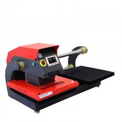 Transporte de Mir-pneumática dupla localização imprensa do calor 40x50cm
