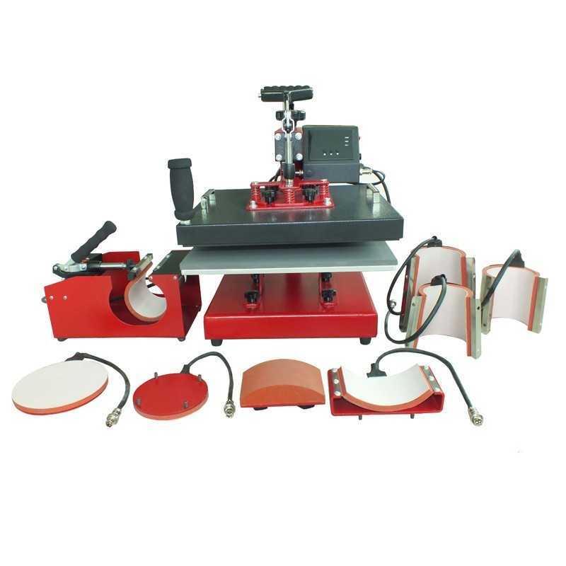 MIR-AUS 6-in-1 Multi-functional Heat Press
