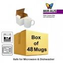 Ceramic White Mug Grade AAA