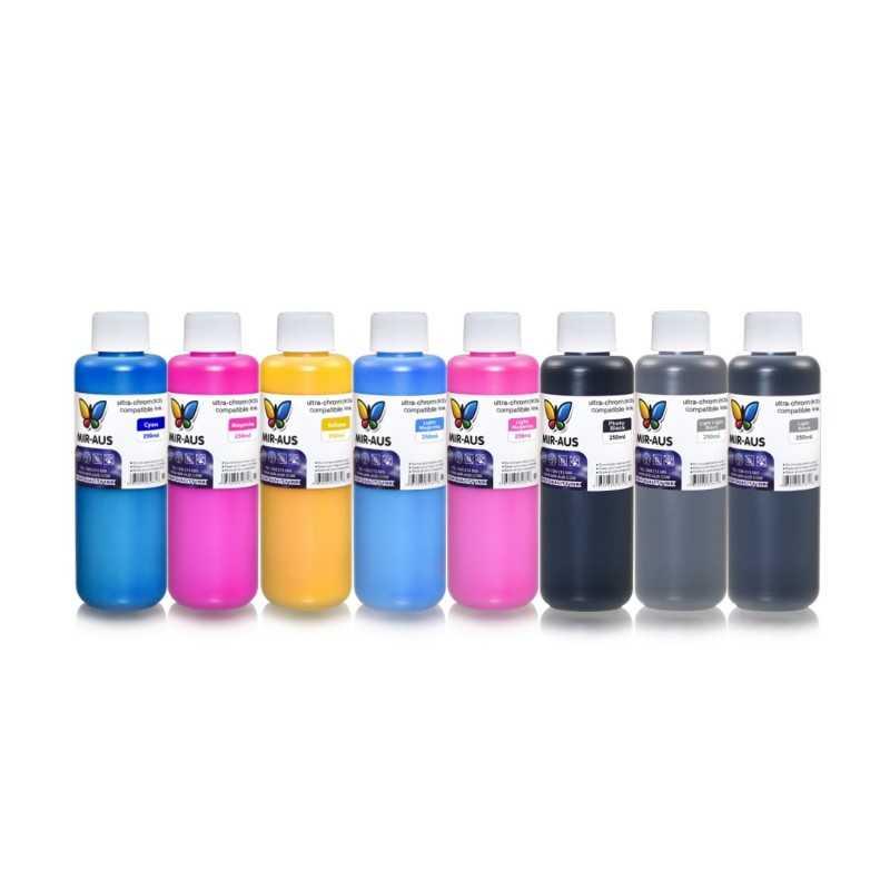 Ultra tinta para impresoras de gran formato 8x250ml