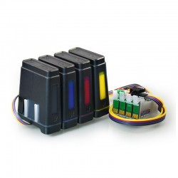 Pigment CISS for Epson WorkForce WF-3640