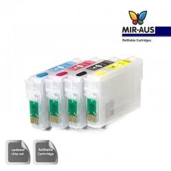 Cartouches rechargeables adapté Epson Expression Accueil XP-324
