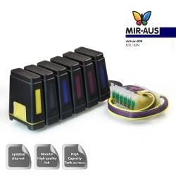 HT CISS fire farver til Epson blækpatron kode 252