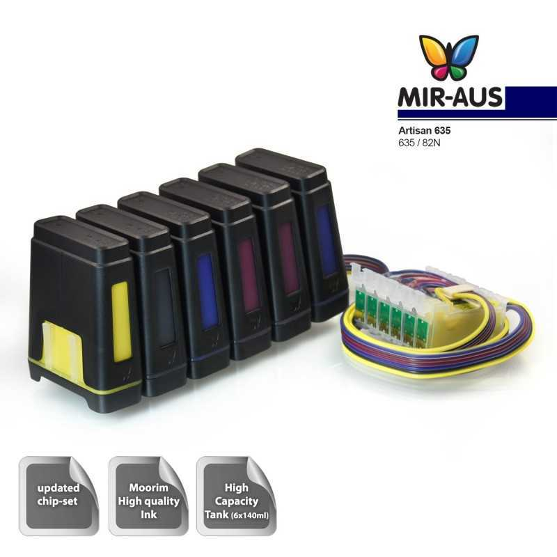 special order CISS for Epson with cartridge code 81n 82n