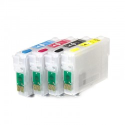 Cartuchos recarregáveis apropriado Epson expressão Home XP-324