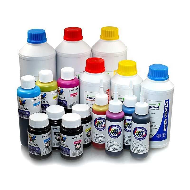 Encre de recharge de colorant bleu pour Epson
