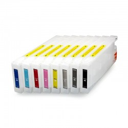 Refillable cartridges for Stylus Epson Pro 7880