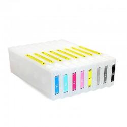 القابلة لإعادة الملء خراطيش إبرة الفونوغراف Epson 7800 برو