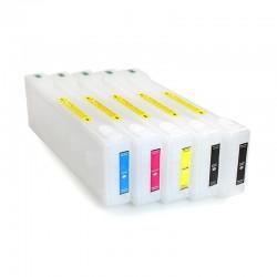 Cartuchos de tinta recarregáveis para Epson 7700 9700 7710 9710