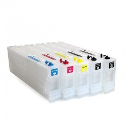 Refillable ink cartridges for Epson SureColor SC-T5000