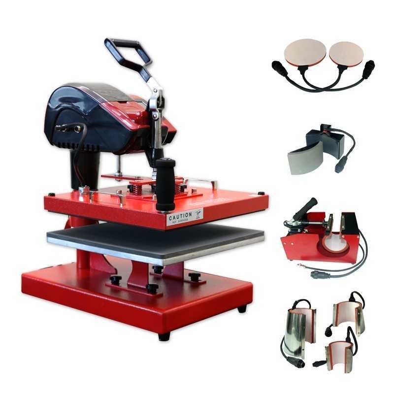 Presse de la chaleur HT-M38 Hest sublimation presse 8-in-1 multi-functional 38x38cm