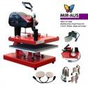 heat press Hest HT-M38 8-in-1 Multi-functional 38x38cm